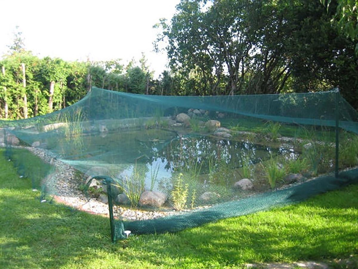 Laubschutz Netz, Teichschutz
