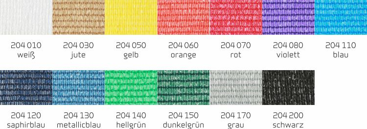 Blendenfarben 204