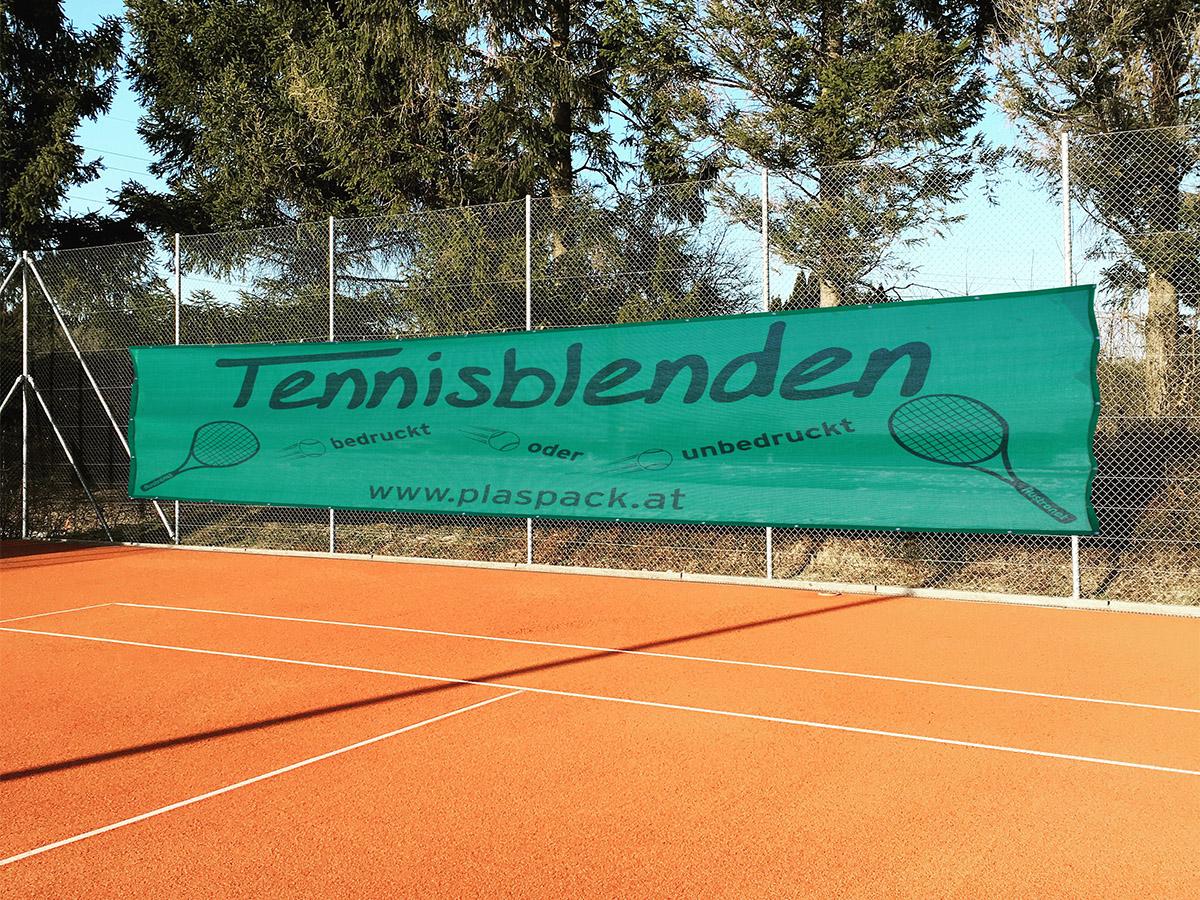 Plaspack tennisblende